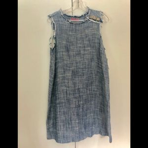 MATERNAL AMERICA Dresses - Maternal America shift dress indigo blue sz SMALL